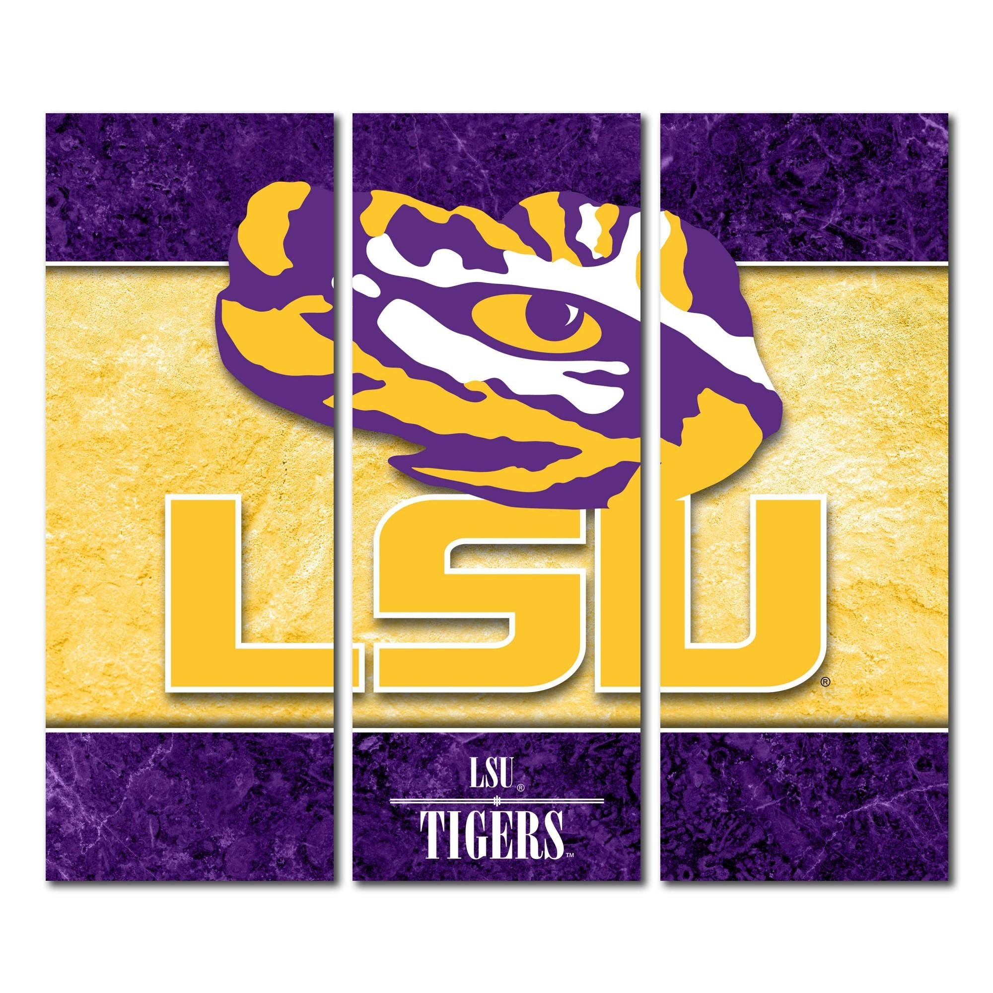 Cornhole Boards & Tailgate Games | Victory Tailgate Throughout Lsu Wall Art (Image 4 of 20)