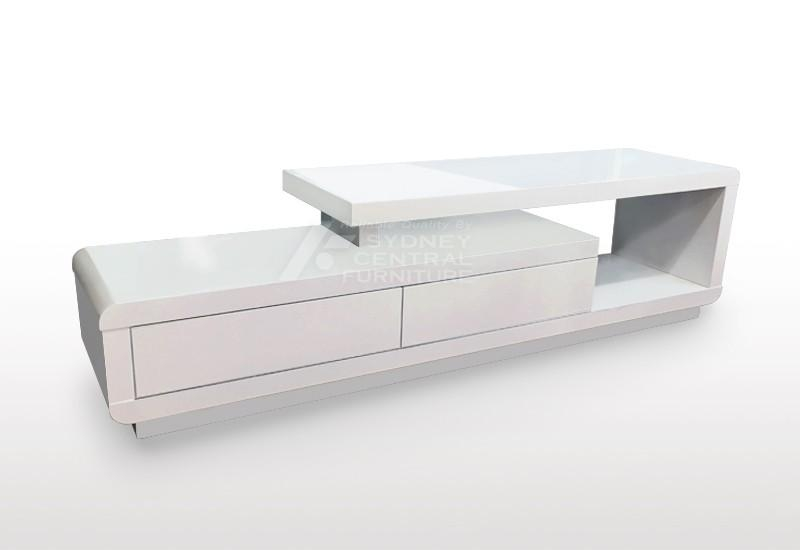 Coto High Gloss Tv Unit – Sydney Central Furniture With Regard To Newest White High Gloss Tv Unit (Image 6 of 20)