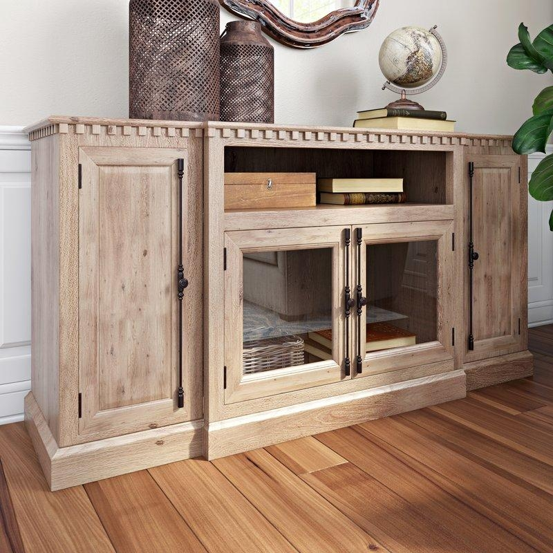 Cottage & Country Tv Stands You'll Love | Wayfair Intended For Recent Birch Tv Stands (Image 9 of 20)