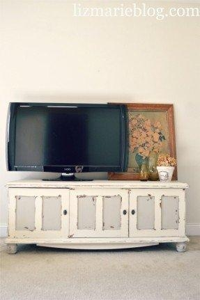 Cottage Style Tv Stand – Foter With Regard To Latest Cream Corner Tv Stands (Image 8 of 20)
