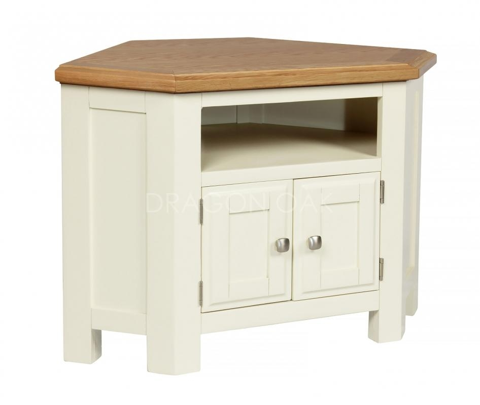Country Cream Corner Tv Unit – Tv Cabinets – Dragon Furniture Within Newest Cream Tv Cabinets (Image 9 of 20)