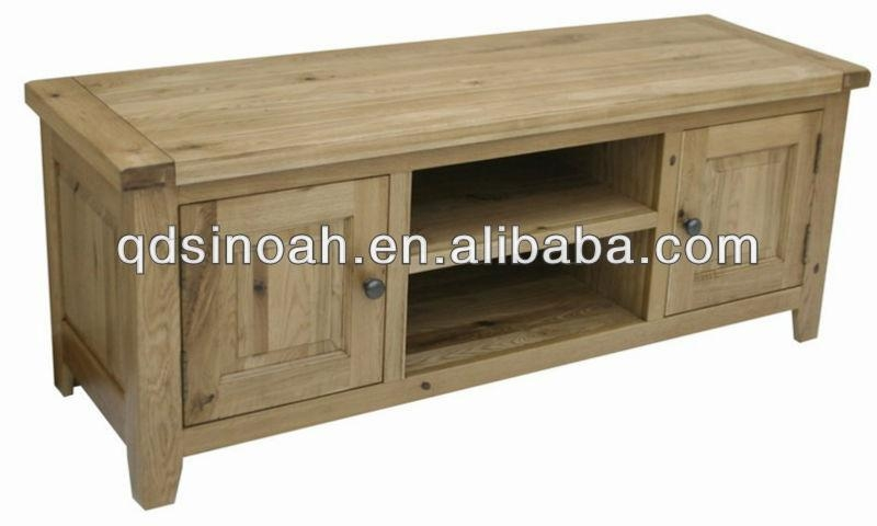 Country Style Oak Wooden Tv Stand (Wooden Tv Unit)/ Ad17 – Buy Oak Throughout Latest Country Style Tv Stands (Image 6 of 20)