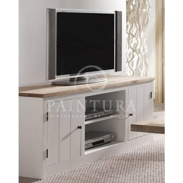 Country Style Pure Oak Tv Cabinet, White Oak Or Weathered Oak Intended For Newest Country Style Tv Cabinets (Image 12 of 20)