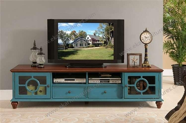 Country Style White Tv Bench Wooden M 1023 Pertaining To Latest Country Style Tv Stands (View 5 of 20)