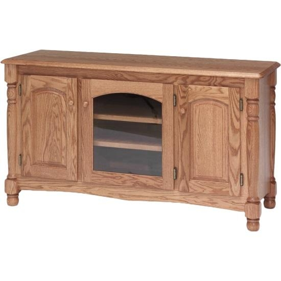 Country Trend Solid Wood Oak Tv Stand – 51″ – The Oak Furniture Shop Regarding Most Recently Released Country Tv Stands (Image 5 of 20)