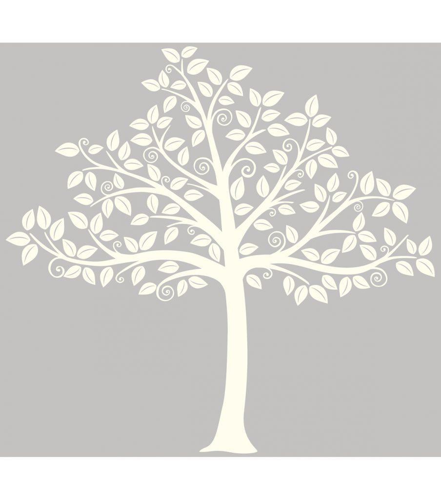 Cozy Dollar Tree Wall Art Stickers Under An Oak Willow Wall Ideas Within Oak Tree Vinyl Wall Art (View 16 of 20)