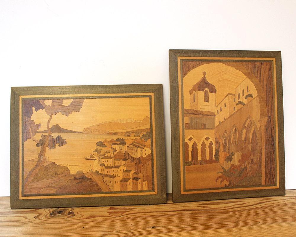 Cozy Mediterranean Wall Art 69 Mediterranean Canvas Wall Art Within Italian Inlaid Wood Wall Art (View 3 of 20)