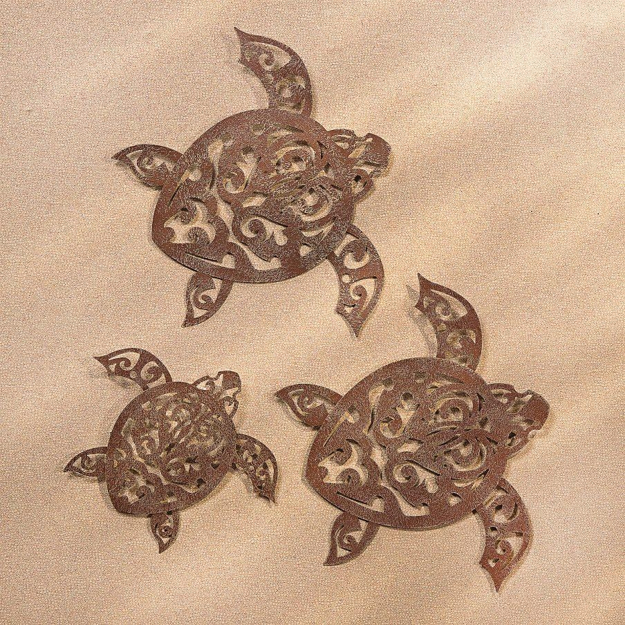 Cozy Metal Sea Turtle Wall Decor Lasercuttribalturtlewalldaccor Within Sea Turtle Metal Wall Art (View 17 of 20)