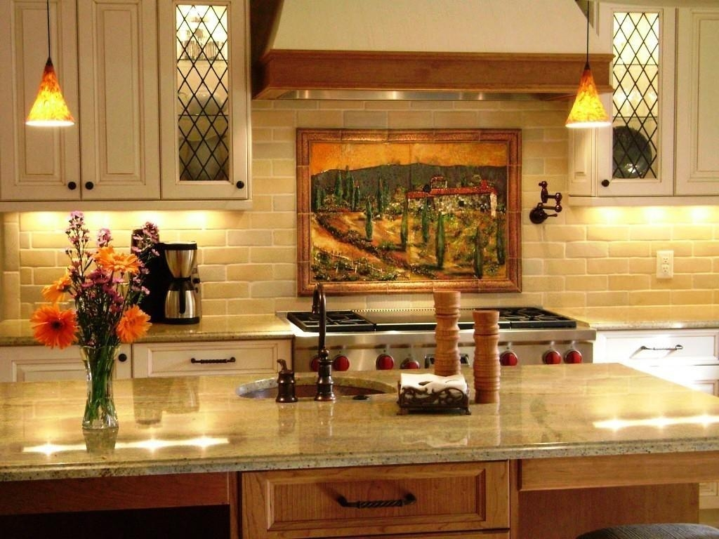 Cozy Tuscan Italian Kitchen Décor | All Home Decorations Regarding Italian Themed Kitchen Wall Art (View 13 of 20)