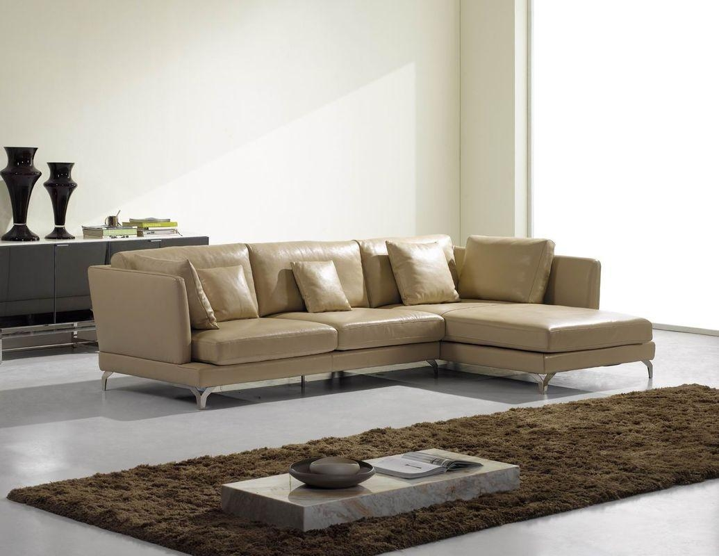 Cream Sectional Sofa Type | Med Art Home Design Posters Regarding Cream Sectional Leather Sofas (Image 6 of 22)