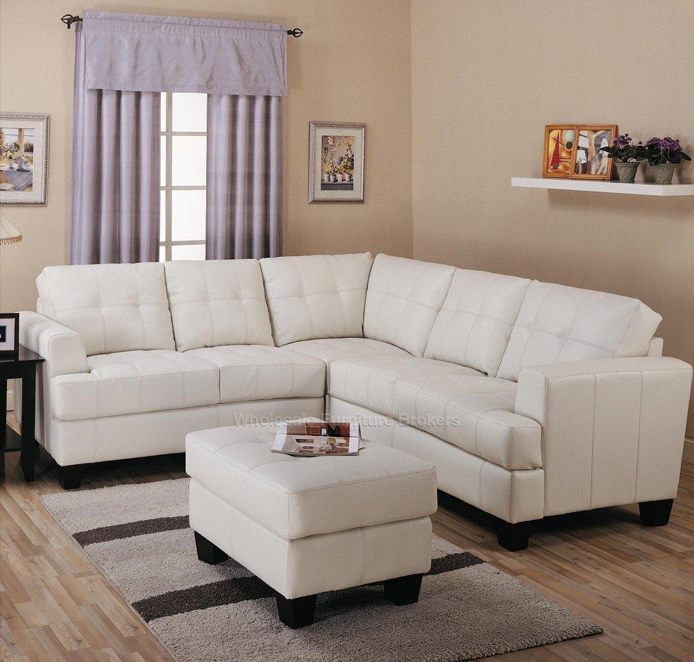 Cream Sectional Sofa Type | Med Art Home Design Posters Regarding White Sectional Sofa For Sale (Image 3 of 21)