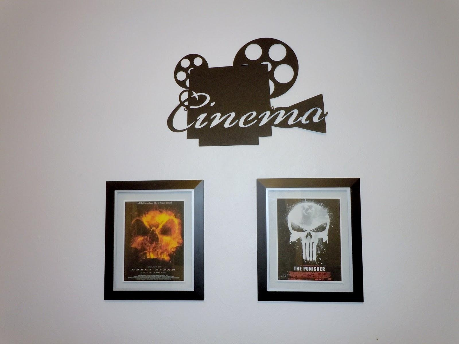 Creating A Teens Black & White Movie Themed Bedroom Intended For Movie Themed Wall Art (Image 8 of 20)