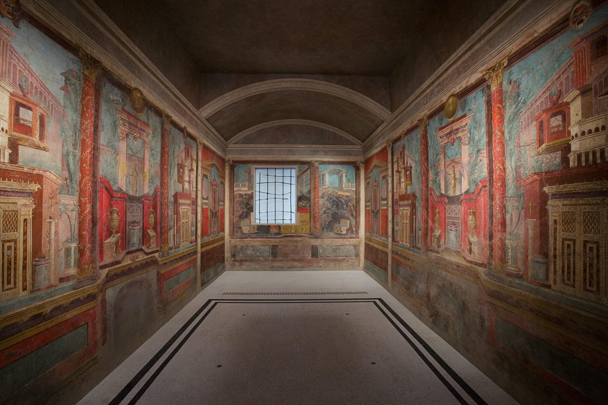 Cubiculum (Bedroom) From The Villa Of P (Image 3 of 20)