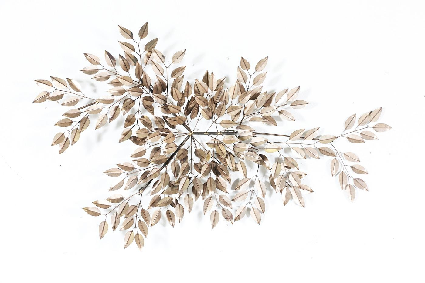 Curtis Jere Tree Leaves Wall Art | Vintage Supply Store Throughout C Jere Wall Art (View 2 of 20)