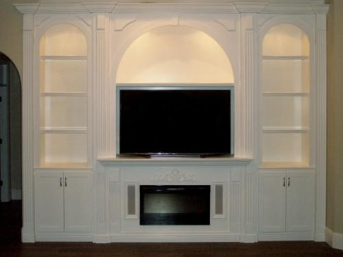 Custom Entertainment Centers – Custom Wall Units Orlando, Fl Intended For Latest Tv Entertainment Wall Units (Image 8 of 20)
