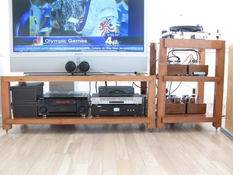 Custom Furniture, Hi End Audio Stereo Racks And Isolation Pertaining To Latest Turntable Tv Stands (Image 9 of 20)
