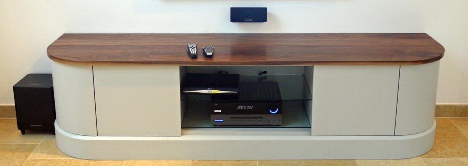 Custom Handmade Furniture | Grahame R Bolton Of Bungay, Suffolk Regarding Most Recent Bespoke Tv Cabinets (View 20 of 20)
