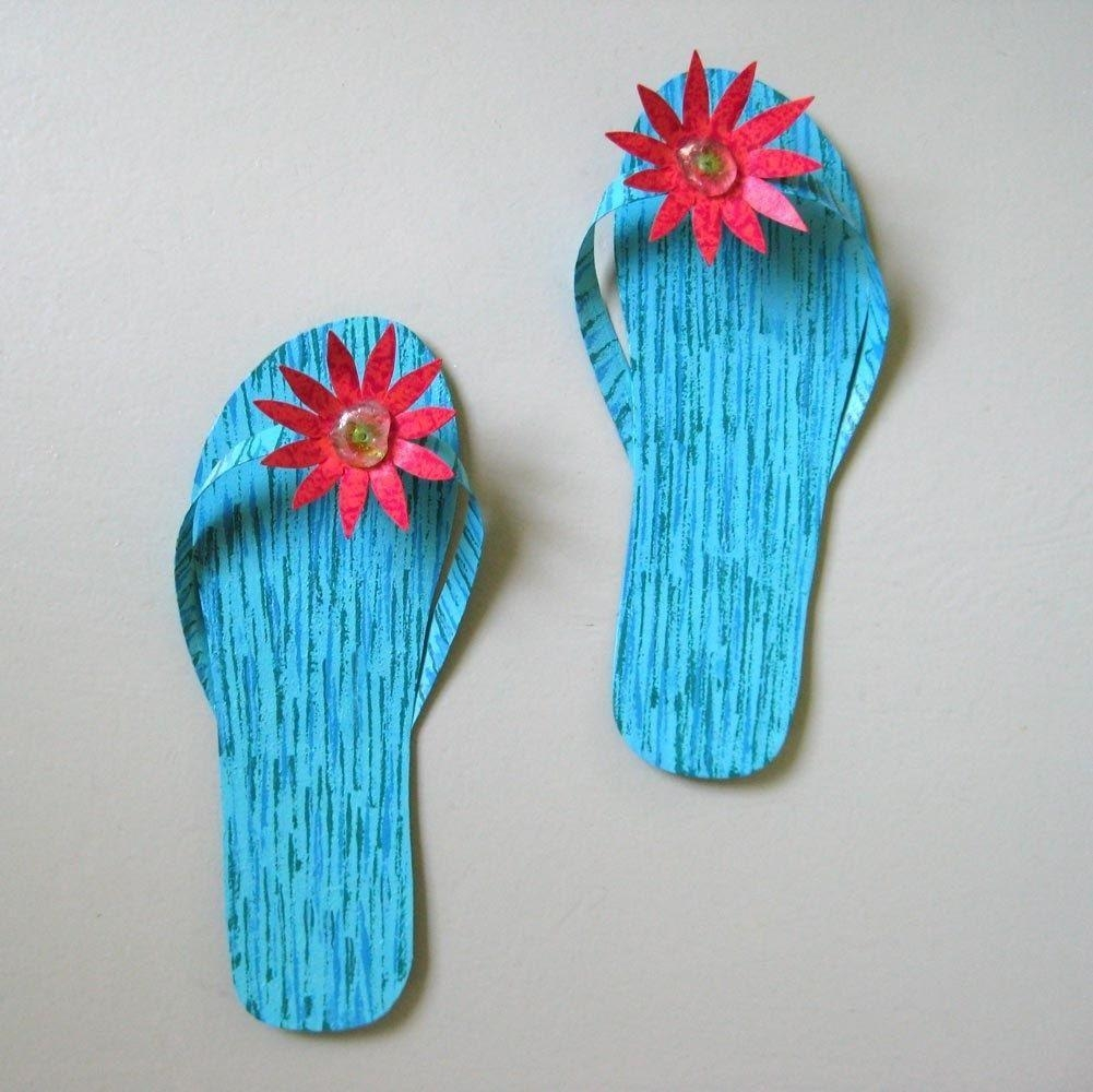 Featured Image of Flip Flop Wall Art