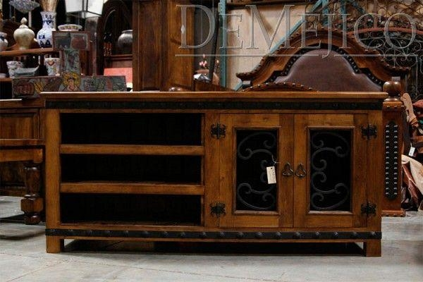 Custom Made Alamo Tv Standdemejico Inc – Manufactures Of Regarding Latest Antique Style Tv Stands (Image 11 of 20)