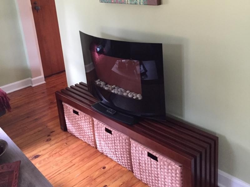 Custom Projects | Joanna's Collections – Country Home Basketry With Regard To Most Up To Date Tv Stands With Baskets (Image 11 of 20)