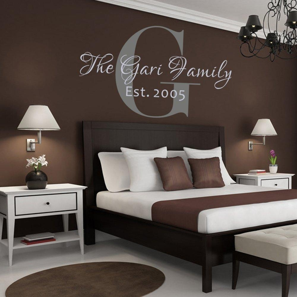 Customized Wall Graphics With Names – Honor Your Name : Funk This Within Custom Last Name Wall Art (View 5 of 20)