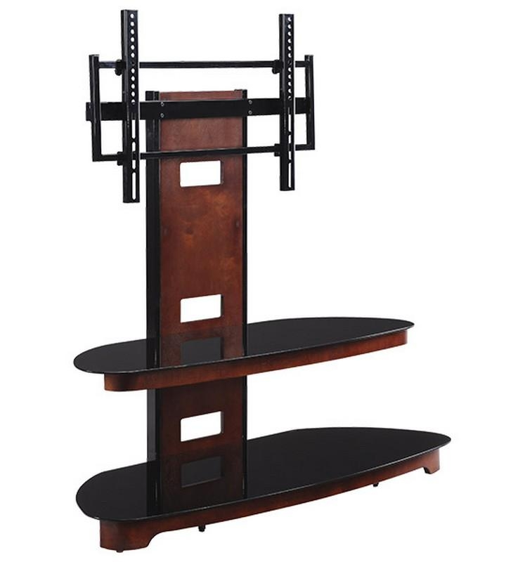 Cycon Office Systems – Rental Equipment > Furniture > For Sale In Recent Wood Tv Stand With Glass (Image 8 of 20)