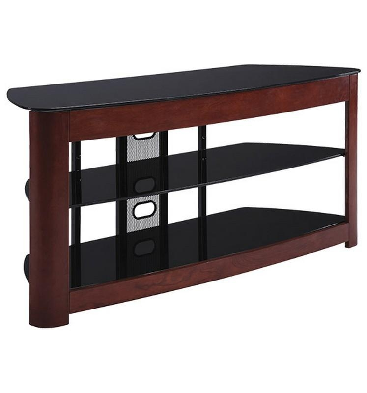 Cycon Office Systems – Rental Equipment > Furniture > For Sale Regarding Recent Wood Tv Stand With Glass (Image 9 of 20)