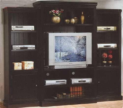 D1 700101Sh Entertainment Centers In Most Up To Date Large Black Tv Unit (View 20 of 20)