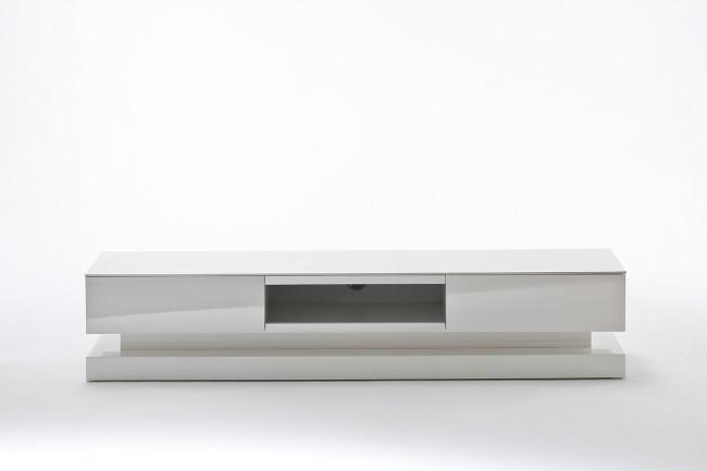 Dapper High Gloss White Tv Stand | Funique With Recent High Gloss White Tv Stands (Image 7 of 20)