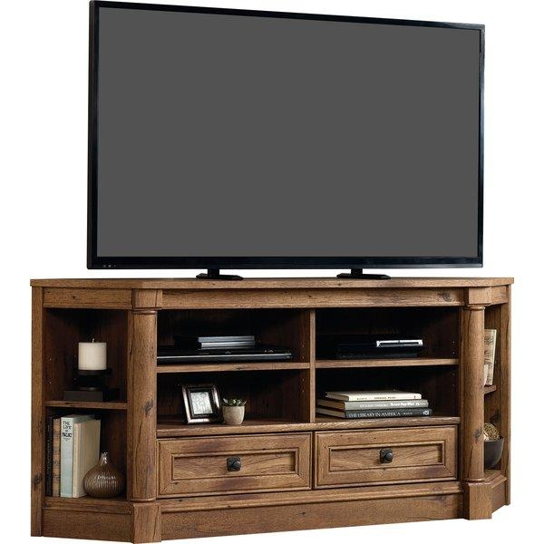 "Darby Home Co Sagers Corner 61"" Tv Stand & Reviews 