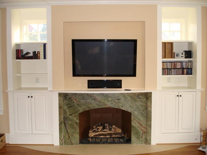 Dark Glossed Enclosed Tv Cabinets For Flat Screens With Doors With In Latest Enclosed Tv Cabinets For Flat Screens With Doors (Image 5 of 20)
