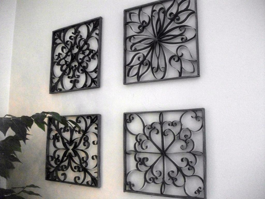 Decor : 24 Beautiful Wrought Iron Garden Wall Art 44 For Your In Stylecraft Home Collection Wall Art (Photo 4 of 20)