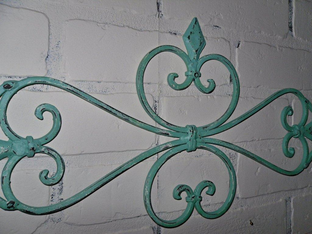 Decor : 24 Beautiful Wrought Iron Garden Wall Art 44 For Your With Regard To Stylecraft Home Collection Wall Art (Photo 10 of 20)