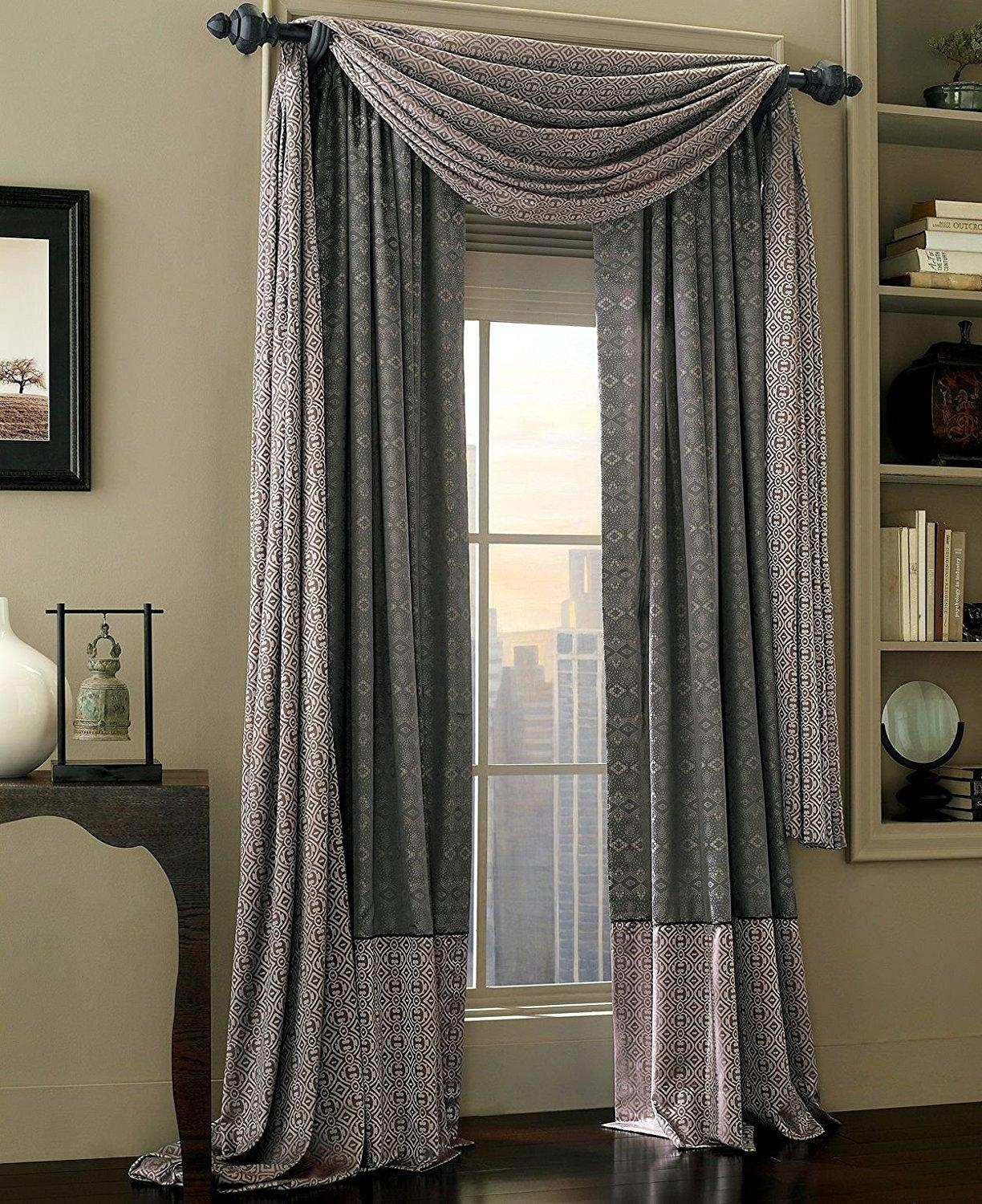 Decor: Gray Macys Curtains With Wall Art And Wall Shelves Plus For Macys Wall Art (View 7 of 20)