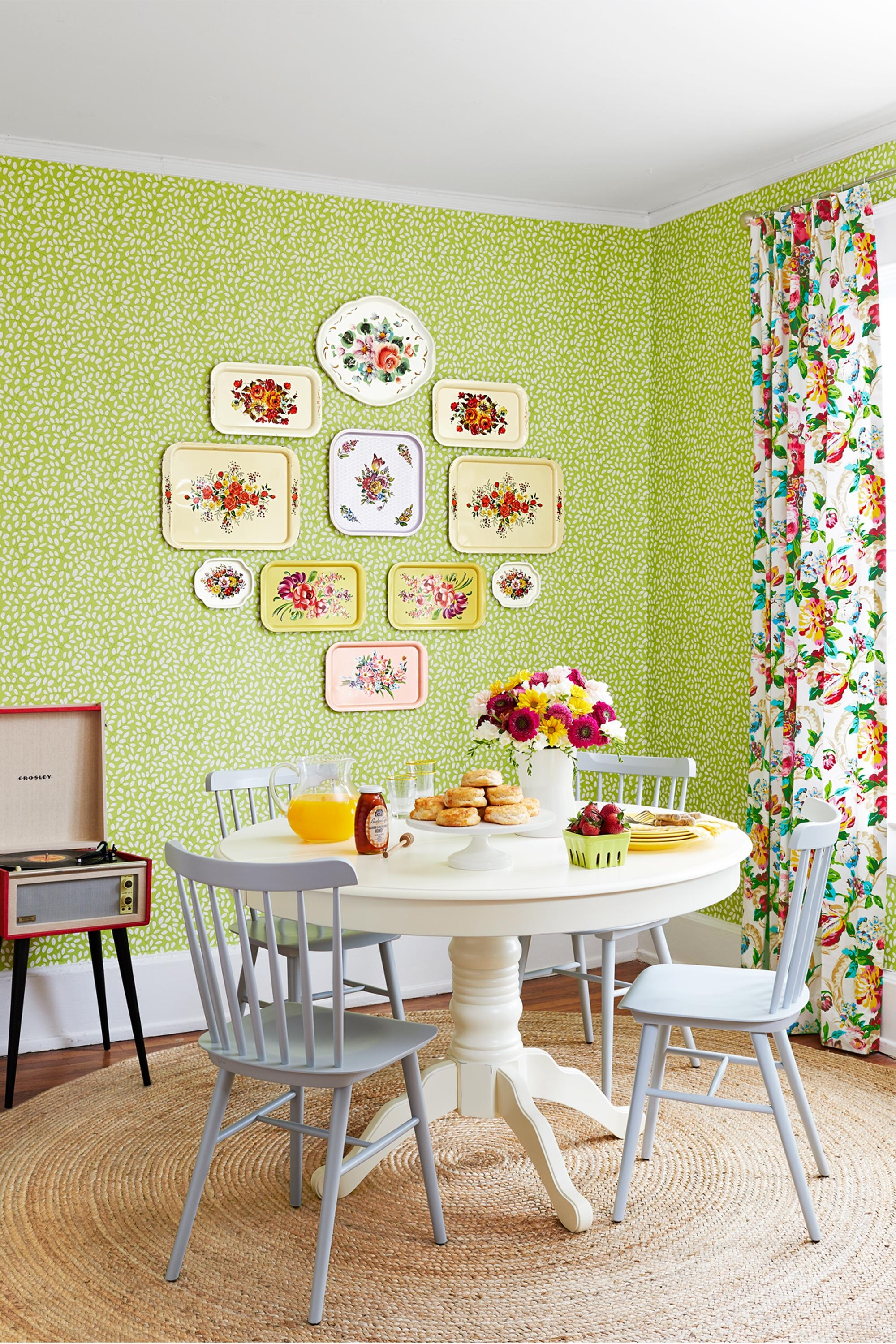 Decorating With Green – 43 Ideas For Green Rooms And Home Decor Pertaining To Wall Art For Green Walls (View 13 of 20)