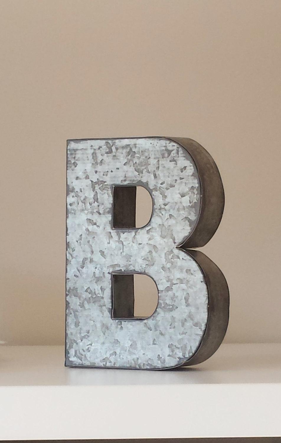 Decorative Wall Letters : Latest decorative metal letters wall art ideas