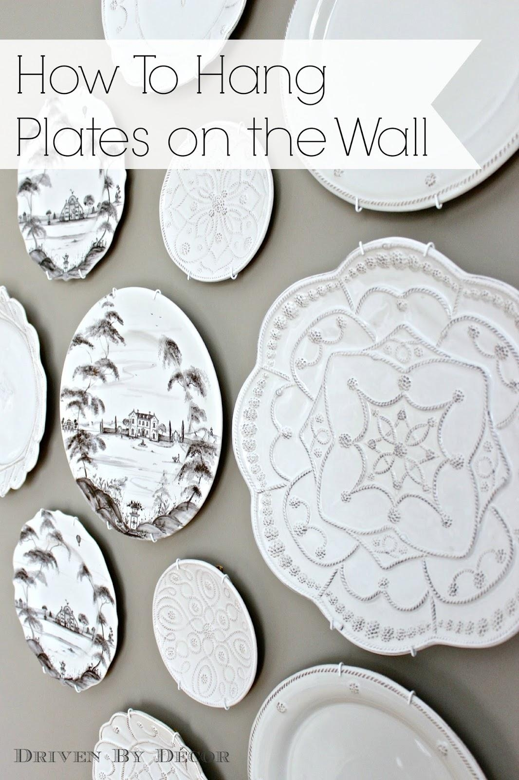 Decorative Plates For Wall | Roselawnlutheran Inside Scattered Italian Plates Wall Art (View 16 of 20)