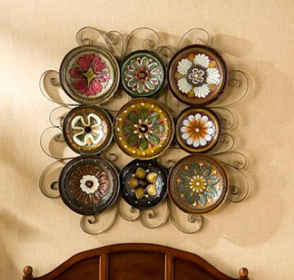 Decorator Wall Plates 1000 Ideas About Plate Wall Decor On Inside Italian Plates Wall Art (Image 4 of 20)