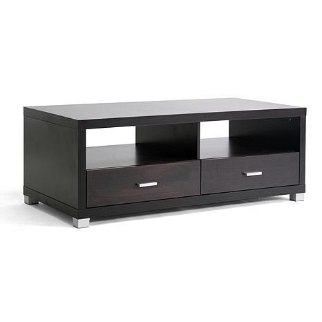 Derwent Modern Tv Stand With Drawers – 6594629 | Hsn With 2017 Black Tv Stands With Drawers (Image 14 of 20)