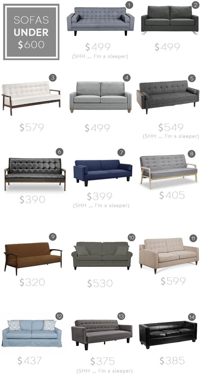 Design Mistake #1: The Generic Sofa – Emily Henderson Intended For Sectional Sofas Under  (Image 3 of 20)