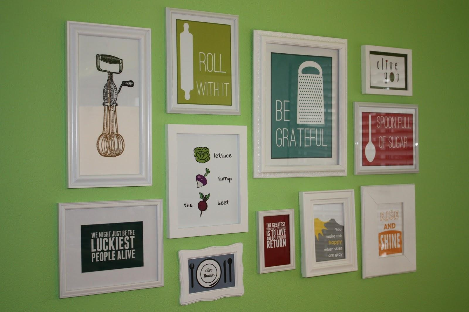 Designs For Kitchen Walls Marvelous Wall Art For Kitchen Ideas Regarding Art For Kitchen Walls (View 19 of 20)