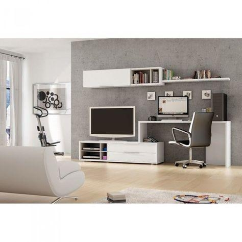 Desk And Tv Stand Combo – Google Search … | Pinteres… Pertaining To Newest Tv Stand And Computer Desk Combo (Image 6 of 20)