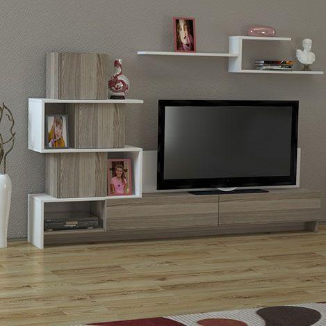 Detayları Göster Dekorister Amore Tv Ünitesi – Beyaz / Cordoba For Most Up To Date Cordoba Tv Stands (Image 8 of 20)