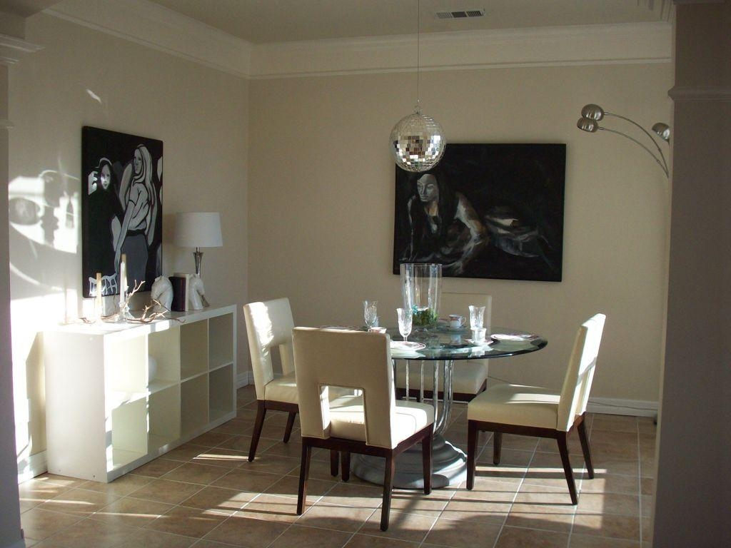 Dining Room : Contemporary Dining Room Wall Art Ideas With Brown Pertaining To Canvas Wall Art For Dining Room (View 15 of 20)