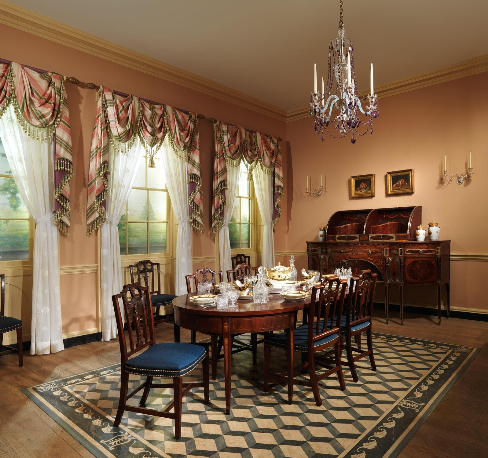 20 collection of formal dining room wall art wall art ideas for Dining room wall furniture