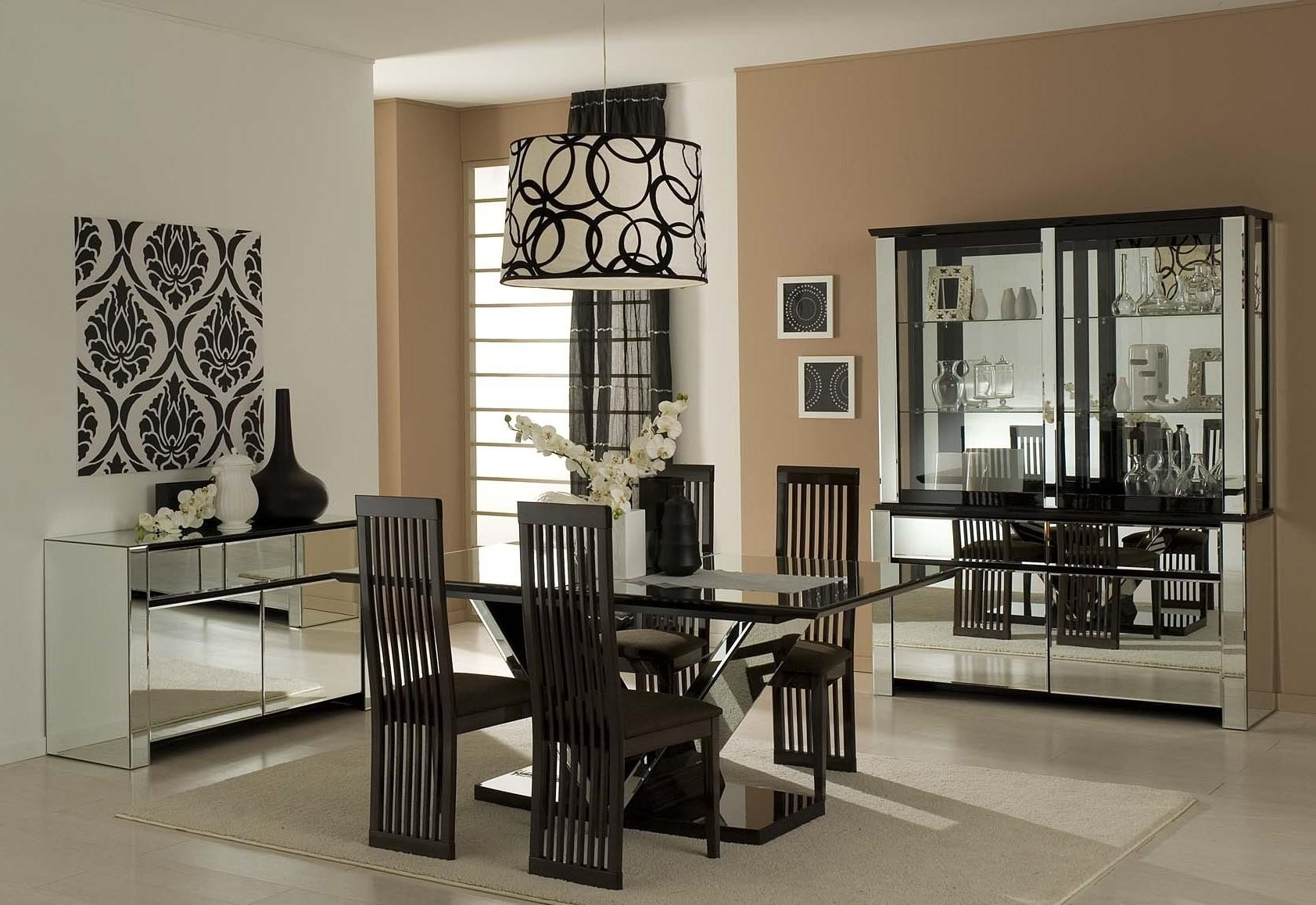 Dining Room Wall Art Four Pieces Covered Leather Chairs Rectangle With Formal Dining Room Wall Art (Image 10 of 20)