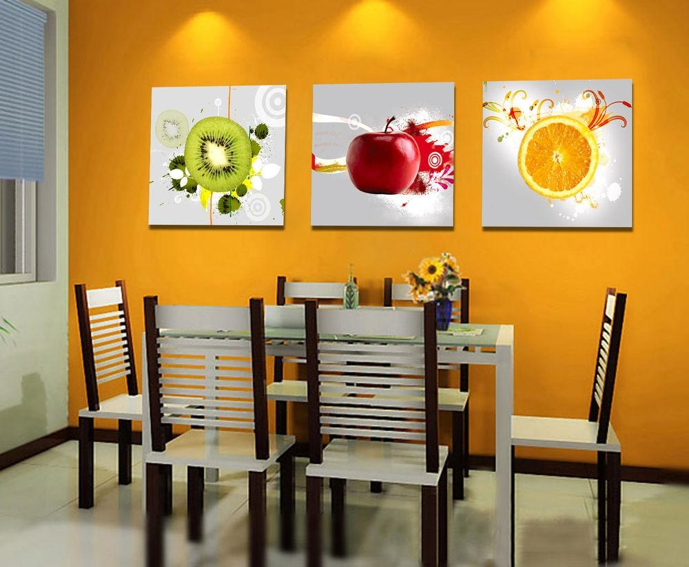 Dining Room Wall Art On Canvas | Decoraci On Interior For Canvas Wall Art For Dining Room (Image 11 of 20)