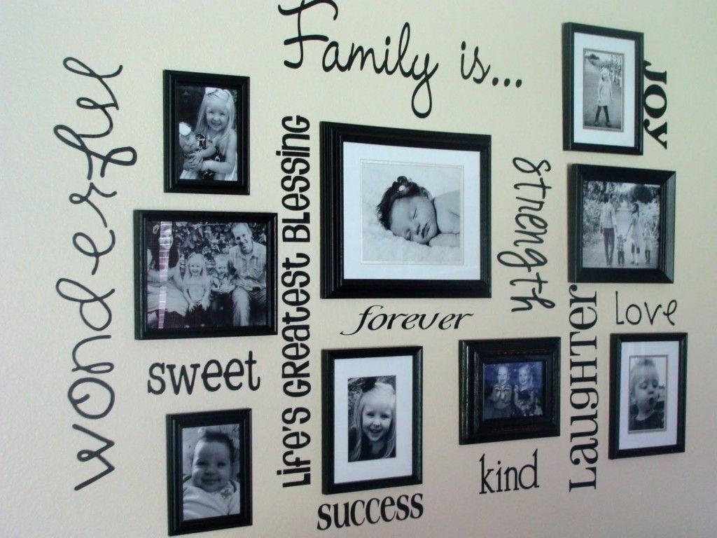 Distinguished Family Photo Frame Family Photo Frame Lovelocks To Regarding Family Wall Art Picture Frames (Image 5 of 20)