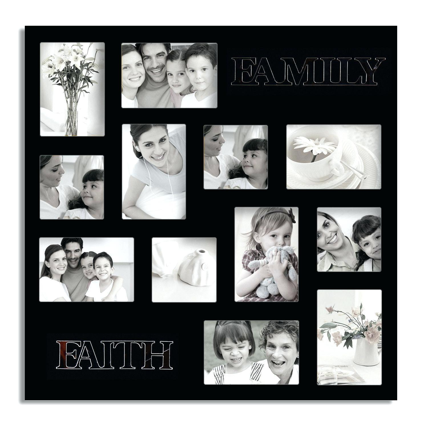 Diy Family Picture Frame Ideas Wall Art Hanging #32073 Interior Intended For Family Wall Art Picture Frames (Image 6 of 20)