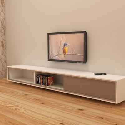 Diy Furniture Plan Floating Tv Cabinet Arturo For Plywood Or Mdf For Most Recently Released Tv Cabinets (Image 11 of 20)